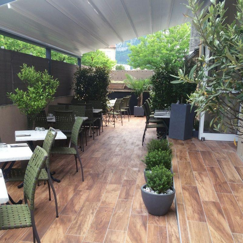 Terrasse restaurant angelis grenoble
