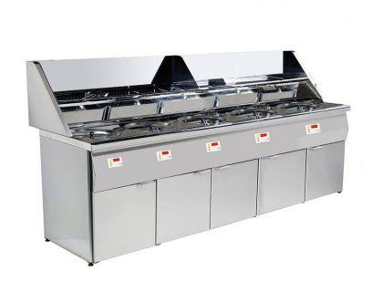 Friteuse professionnelle 90 kW