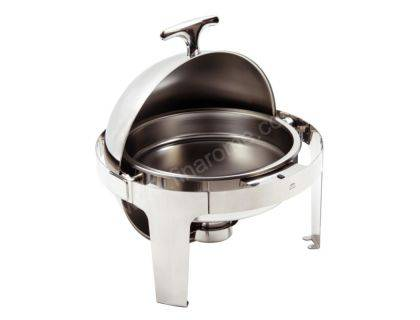 chafing dish rond rabattable
