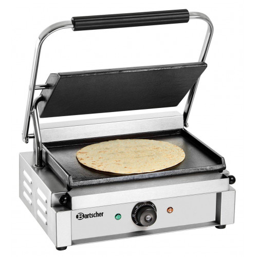 grill panini professionnel bartscher plaques lisses
